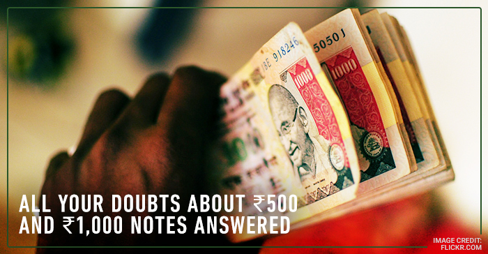 Everything you need to know about the withdrawal of ₹500 and ₹1000 as legal tender notes