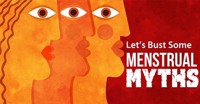 What is the story behind menstrual myths?