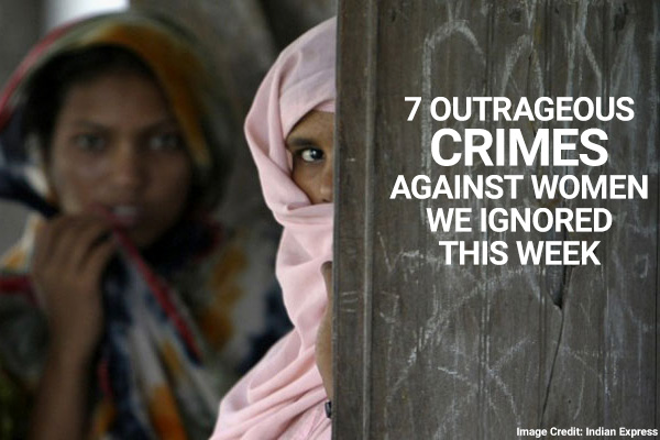 Are ALL crimes against women getting the attention they deserve?